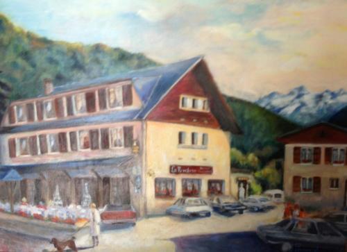 Hôtel La Rencluse : Hotel near Saint-Mamet