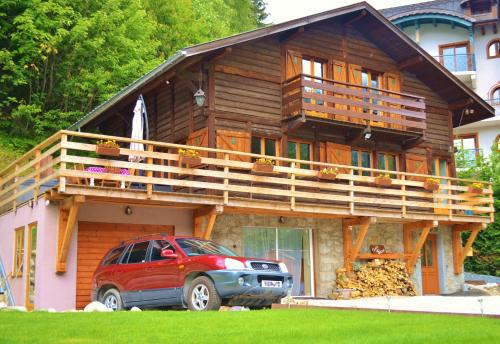 Chalet Falcon : Guest accommodation near Vallorcine