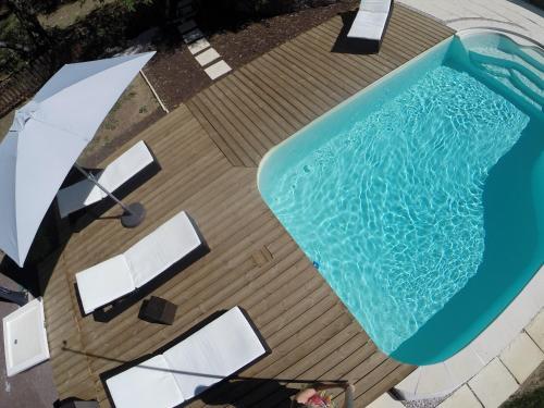 Le Patio Bleu : Guest accommodation near Cuers