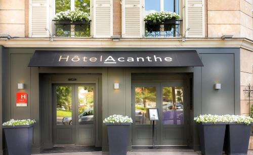 Quality Hotel Acanthe - Boulogne Billancourt : Hotel near Saint-Cloud
