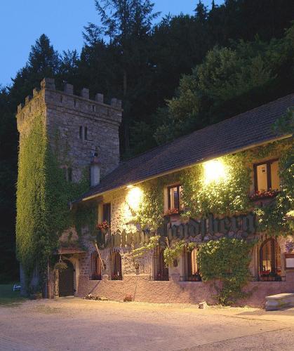 Hôtel & Restaurant Château Landsberg & Spa : Hotel near Heiligenstein