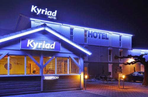 Hotel Kyriad Montauban : Hotel near Villemade