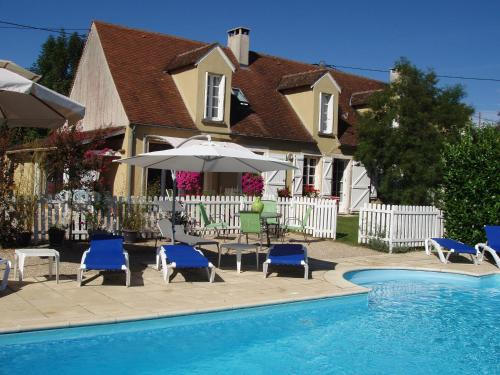 B&B Le Mas de Gramat : Bed and Breakfast near Loupiac