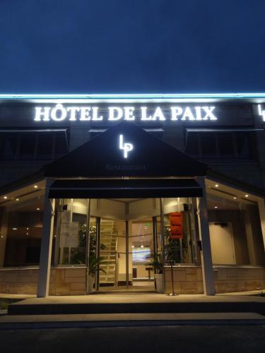 Hôtel de la Paix : Hotel near Ribécourt-la-Tour