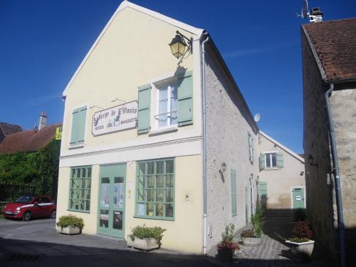Logis Auberge De L'Omois : Hotel near Courtemont-Varennes