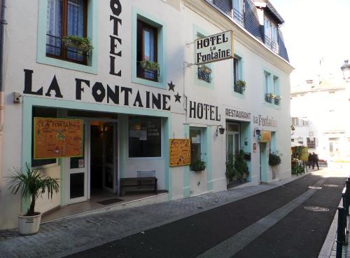 Hôtel La Fontaine : Hotel near Lourdes