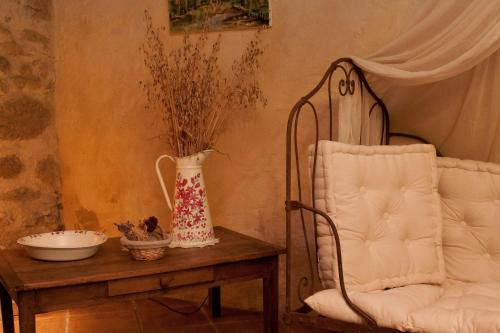 B&B La Ferme D'Enjean : Bed and Breakfast near Aussos