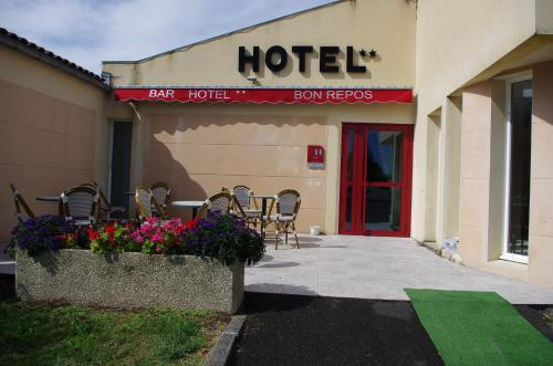 Hôtel Bon Repos : Hotel near Lagarde-sur-le-Né