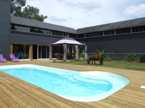 Le Clos du Chêne : Bed and Breakfast near Saint-Ganton