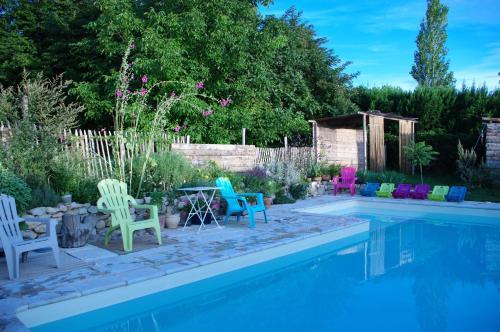 Maison d'Hôtes Lou Cliou : Guest accommodation near Baix