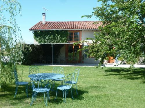 B&B La Ferme de Loubens : Bed and Breakfast near Teulat