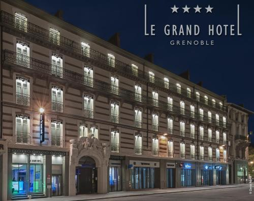 Le Grand Hôtel Grenoble : Hotel near Grenoble