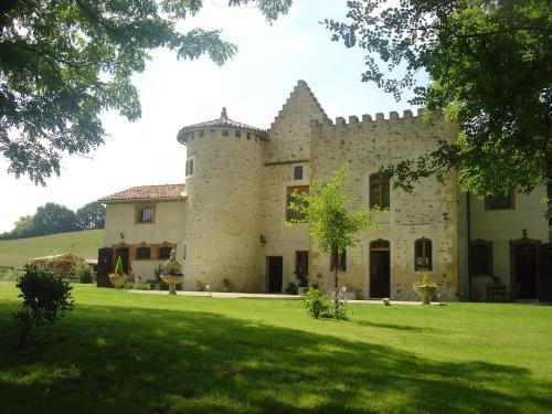 Domaine du Val de Soux : Bed and Breakfast near Couret