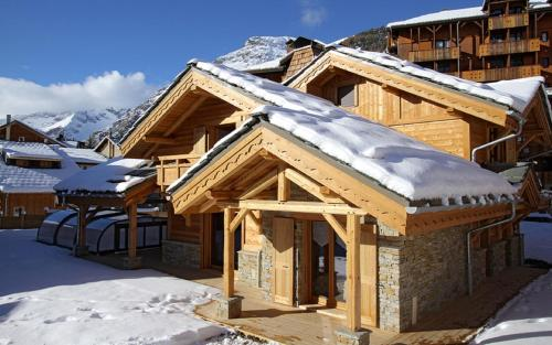 Odalys Chalet Prestige Lodge : Guest accommodation near Saint-Christophe-en-Oisans