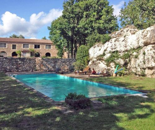 Mas des Clauzals : Guest accommodation near Saint-Maurice-Navacelles