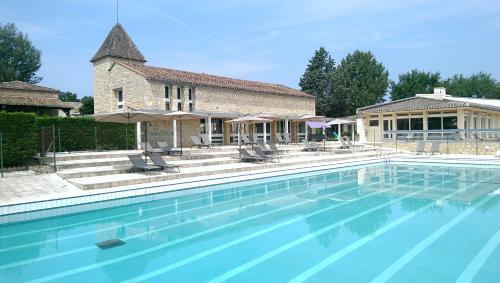 Domaine Résidentiel de Mazières : Guest accommodation near Cassagnes