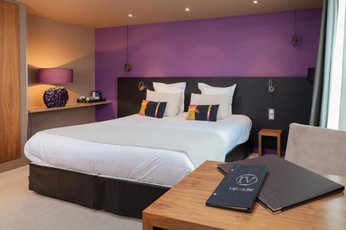 Hotel Restaurant Spa Ivan Vautier : Hotel near Saint-Contest