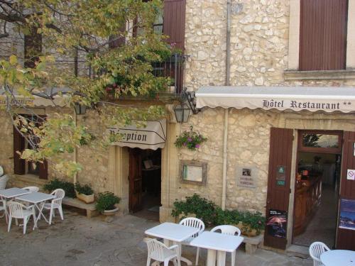 Les Geraniums : Hotel near La Roque-Alric