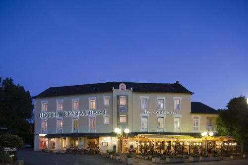 Logis du Commerce : Hotel near Compolibat