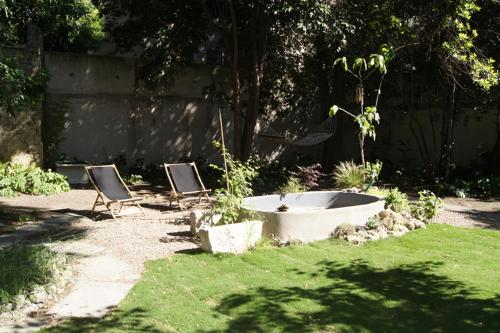 En Ville et sous les Arbres : Bed and Breakfast near Montpellier