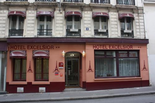 Hotel Excelsior : Hotel near Paris 10e Arrondissement