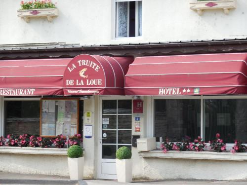 La Truite de la Loue : Hotel near Scey-Maisières