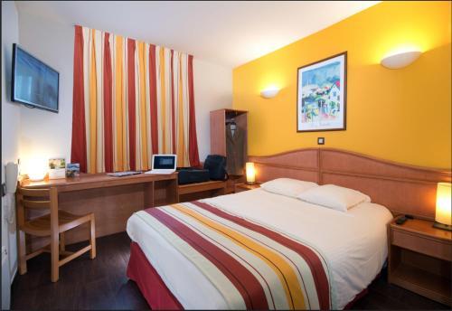 Hotel Roi Soleil Strasbourg Aéroport : Hotel near Hurtigheim