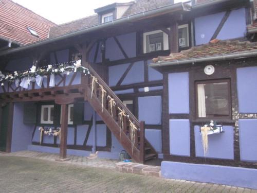 Gîte chez Elouann : Guest accommodation near Hilsenheim
