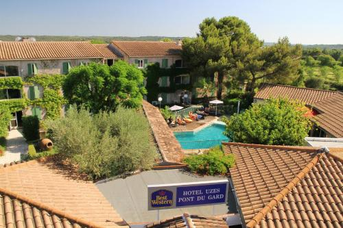 Best Western Uzès Pont du Gard : Hotel near Sanilhac-Sagriès