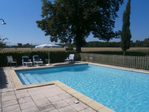 La Ferme Montplaisir : Guest accommodation near Lacaugne