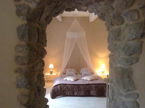 Aux Anges Gardiens : Bed and Breakfast near Lavalette