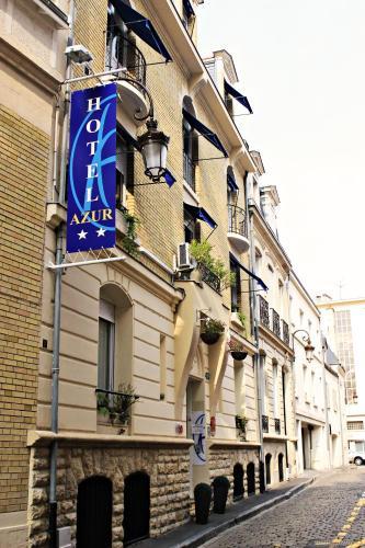 Hôtel Azur : Hotel near Houdilcourt