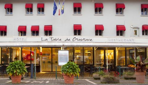 La Table de Gustave : Hotel near Fertans