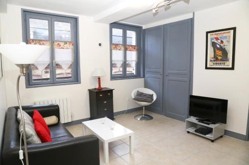 Appartement du Port de Honfleur : Apartment near Honfleur