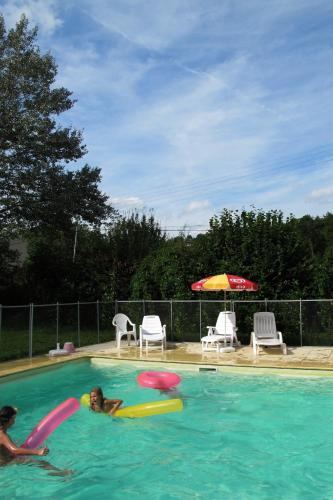 Camping de la Bonnette : Guest accommodation near Belmont-Sainte-Foi
