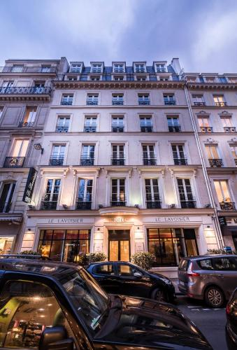 Le Lavoisier : Hotel near Paris 8e Arrondissement