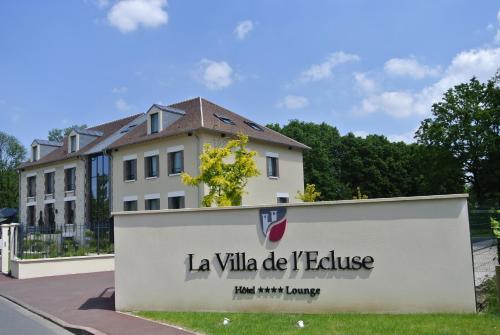 La Villa de l'Ecluse : Hotel near Nesles-la-Vallée