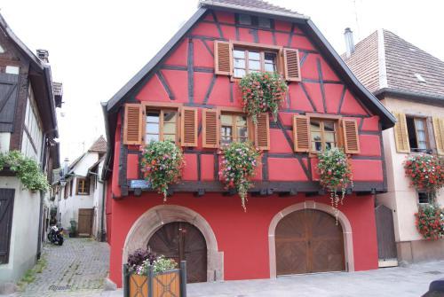 La Porte Haute : Guest accommodation near Sainte-Croix-aux-Mines