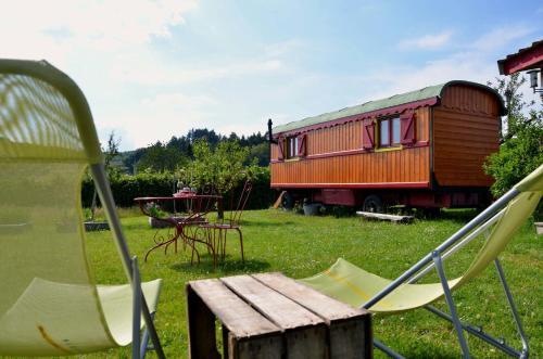 La Roulotte de la Fay : Guest accommodation near Prizy