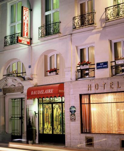 Hôtel Baudelaire Opéra : Hotel near Paris 2e Arrondissement