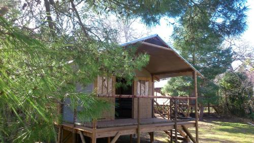 Camping le Rancho : Guest accommodation near Villelongue-dels-Monts