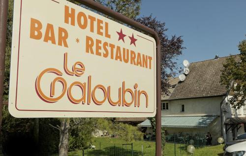 Le Galoubin : Hotel near Boussières