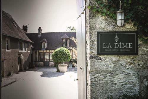 La Dime de Giverny - Cottages : Guest accommodation near Villegats