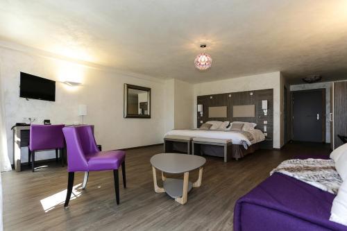 Les Olivades : Hotel near Jarjayes