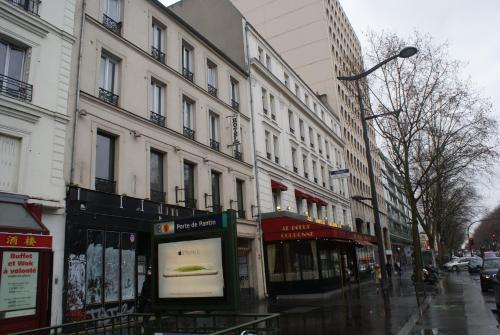 Hotel Agorno Cite de la Musique : Hotel near Paris 19e Arrondissement