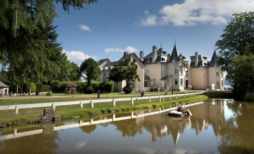 Le Château D'orfeuillette : Hotel near Brion