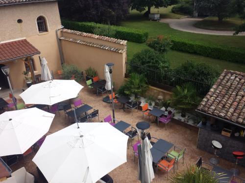 Hôtel Restaurant Carpe diem : Hotel near Sainte-Olive