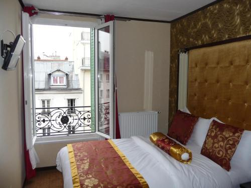 Hôtel des Buttes Chaumont : Hotel near Paris 19e Arrondissement