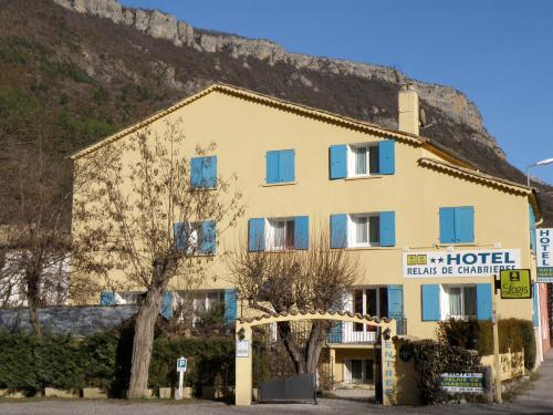 Hôtel Relais de Chabrières : Hotel near Bras-d'Asse