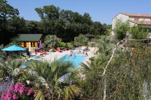 L'Oasis de Boisset : Guest accommodation near Saint-Jean-de-Crieulon
